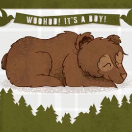 Baby Bear – Shower Invites