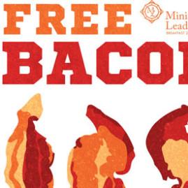Free Bacon Flyer