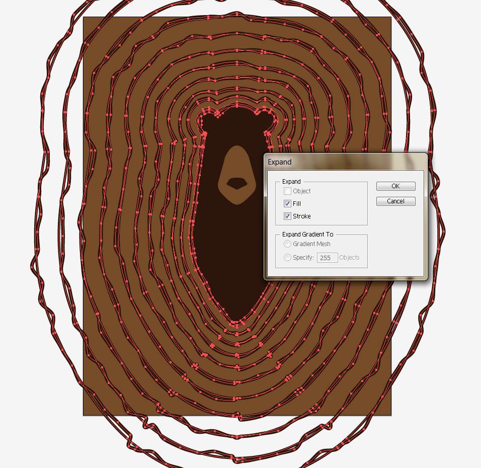 vector tree rings tutorial - image 9