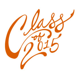 Freebie: Free Class of 2015 Vector Script & Cards